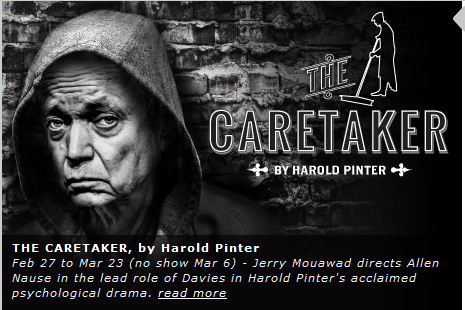 a plot analysis of harold pinters the caretaker