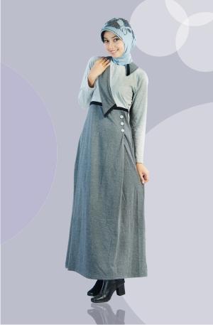 Model Baju Gamis Muslim Muslimah Modern 2012 dan Busana