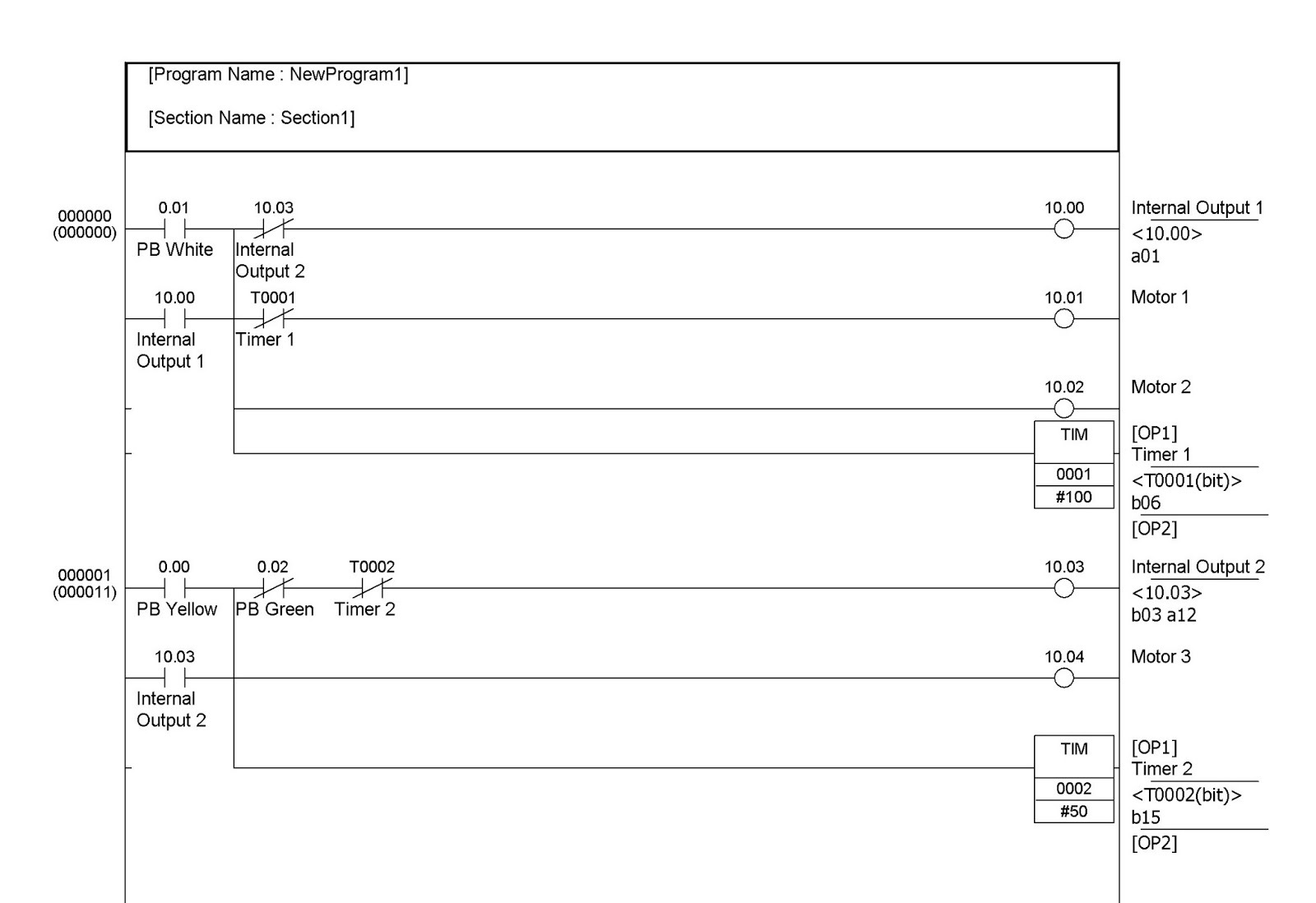 Diagram Ladder Basics Wire Direct Tv Receiver Wiring Relay Logic Of Xor Gate Start Stop Motor Motors2brun2bsequence1 Motorhtml