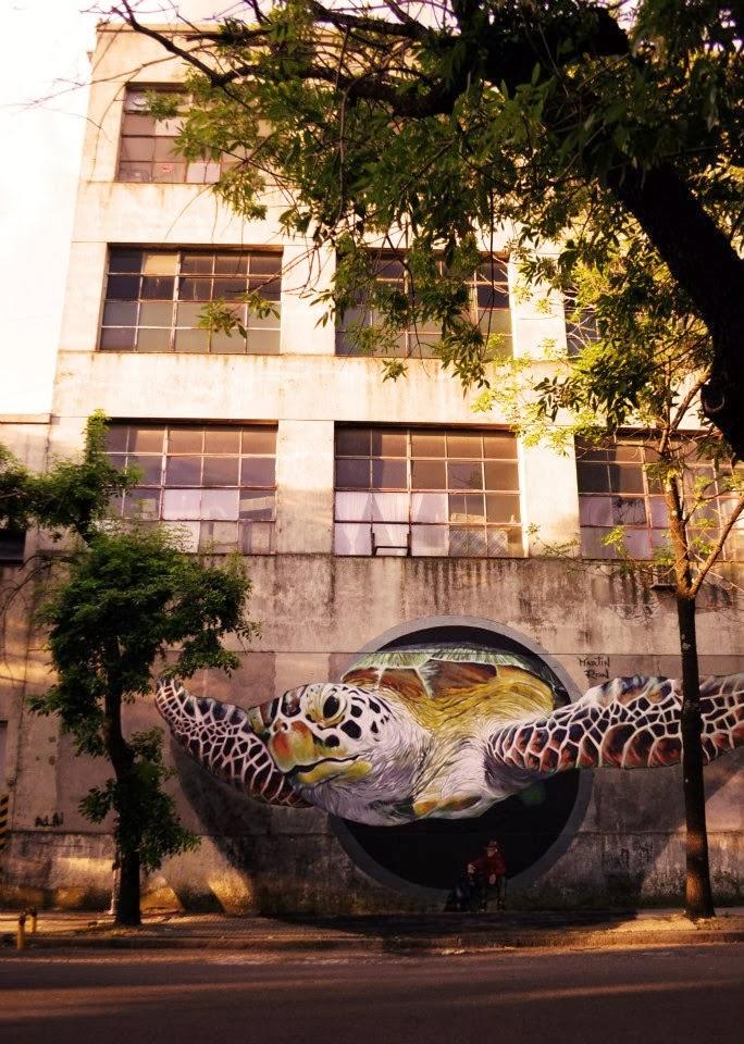 3d Caretta Caretta Painting by Martin Ron Murales