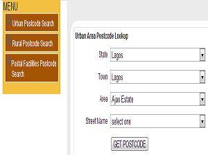 find nigeria postal code