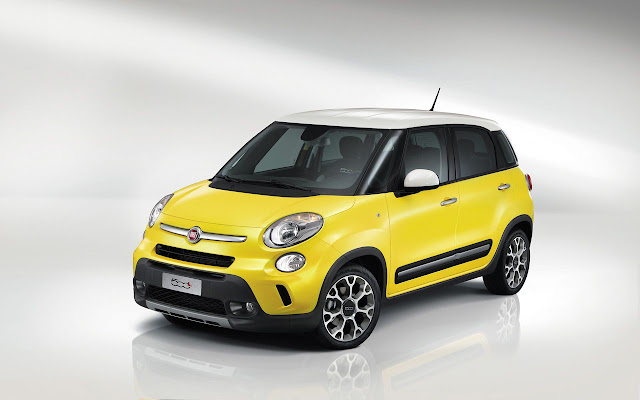 Fiat 500L (nella foto la versione Trekking): il lancio del MPV contribuisce alla crescita Fiat in Europa e in Italia