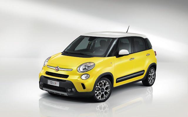 Fiat 500L (nella foto la versione Trekking): il lancio del MPV contribuisce alla crescita Fiat in Europa e in Italia