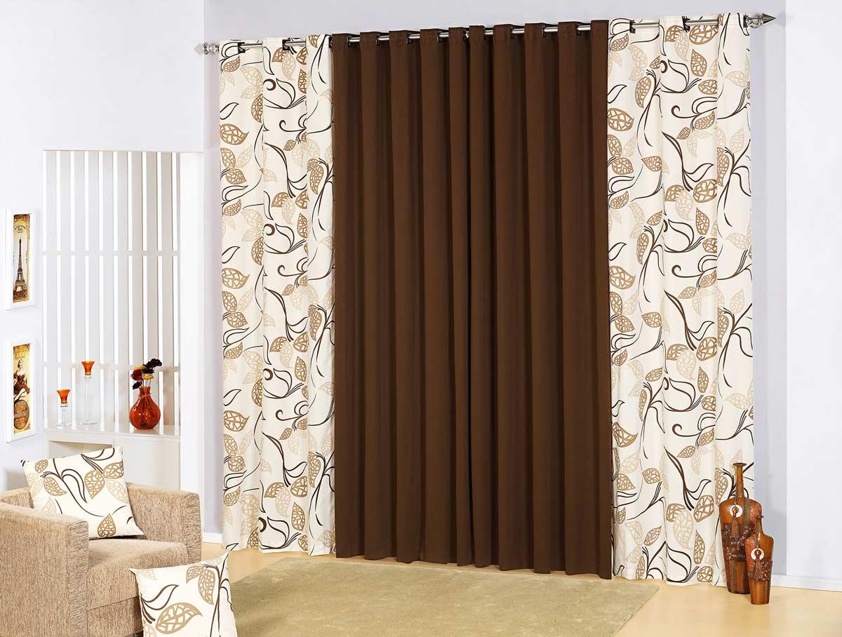 Eita sou dona de casa cortinas para sala for Cortinas bonitas para sala