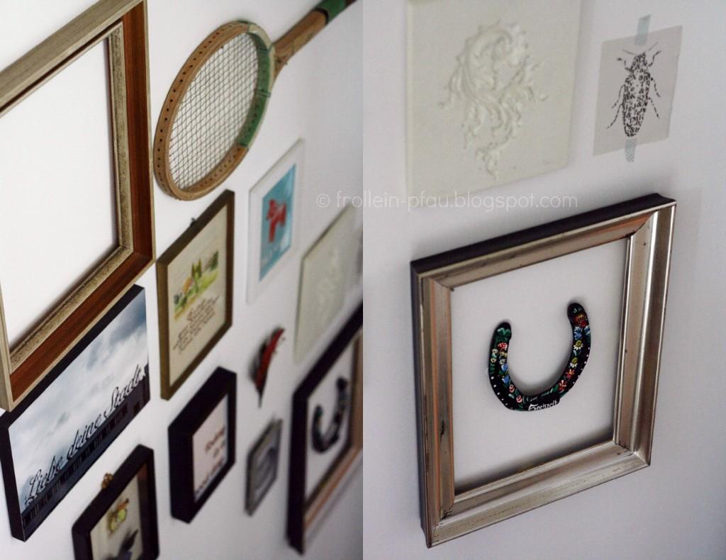Mmi, Mittwochs mag ich, Frollein Pfau, DIY, Bilderwand, Deko, Interior Design, Bilder, selbst gemacht, Flohmarkt, Dekoidee