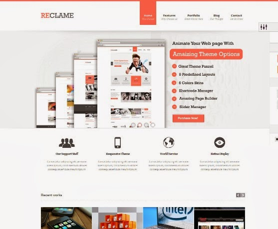 Reclame Responsive WordPress Theme
