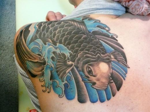 Angel fish tattoo design - photo#19