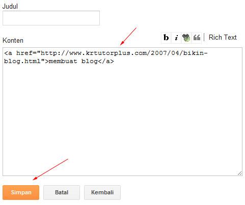 kode link
