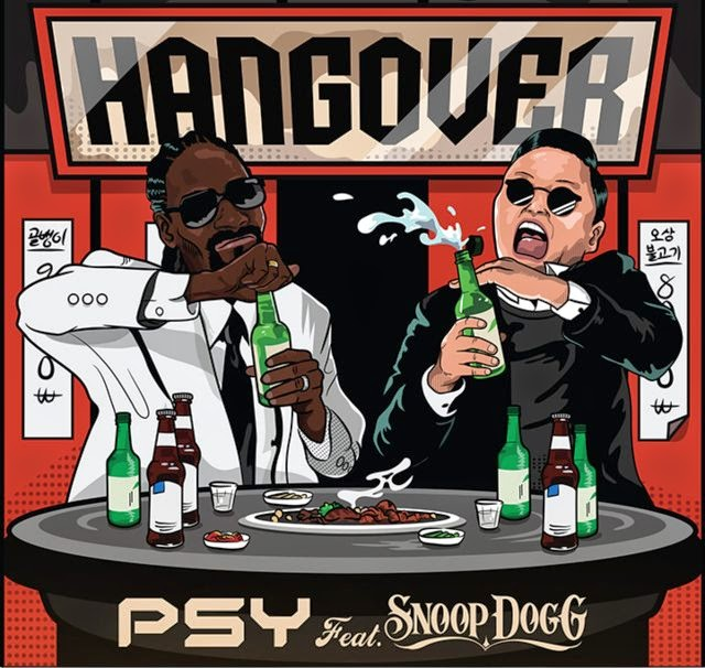 Psy Hangover Cover