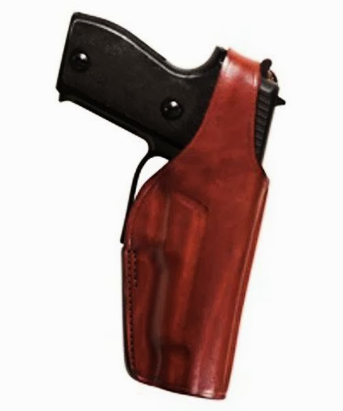 Bianchi 1029661 19 Tan Holster Fits 45 Auto Thumbsnap (Right Hand)