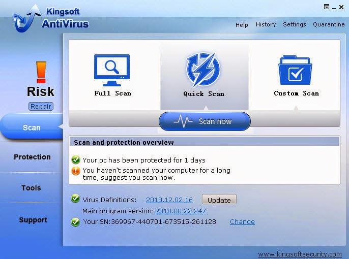 Antivirus Software Internet Security Spyware and Malware Removal