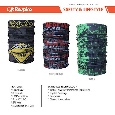 Respiro buff - multi function head wear