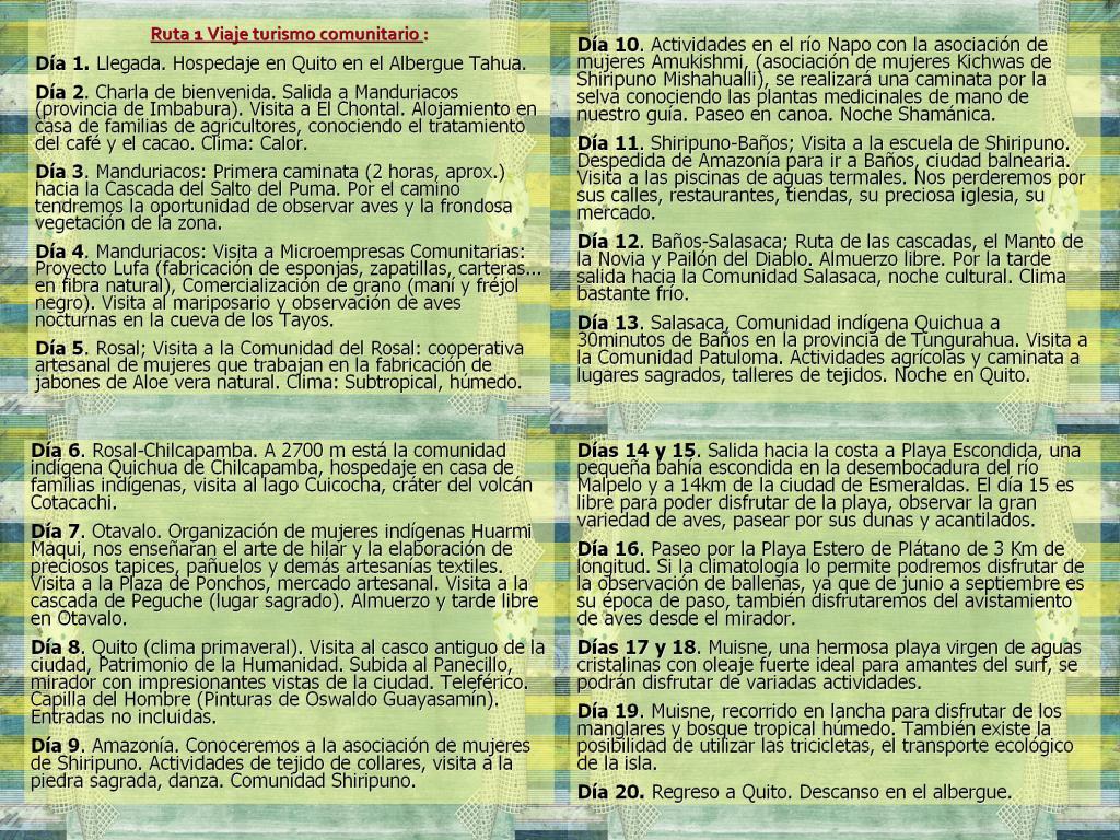 Único Plantilla De Itinerario De Viaje Ejecutivo Imágenes ...