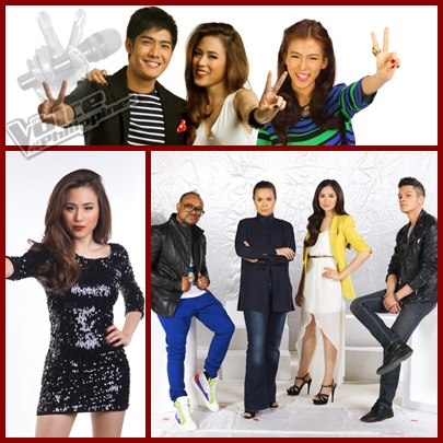 The Voice of the Philippines hosts and coaches