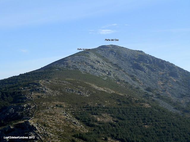 Peña del Oso, desde el Pico Pasapan