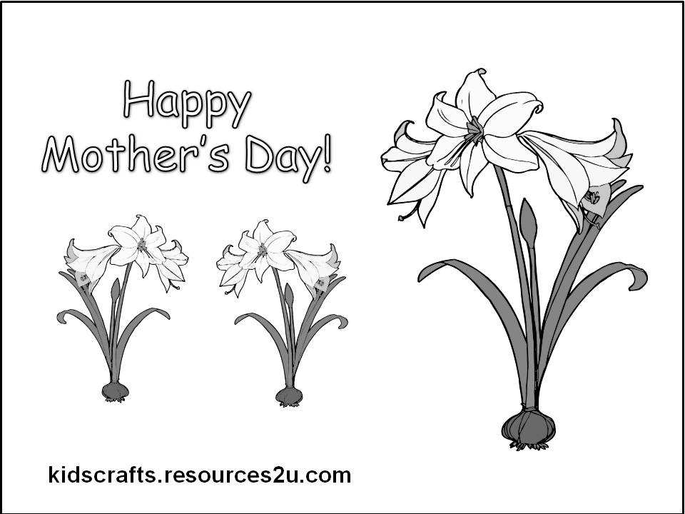 mothers day gifts for kids to make. cards, kids Printable
