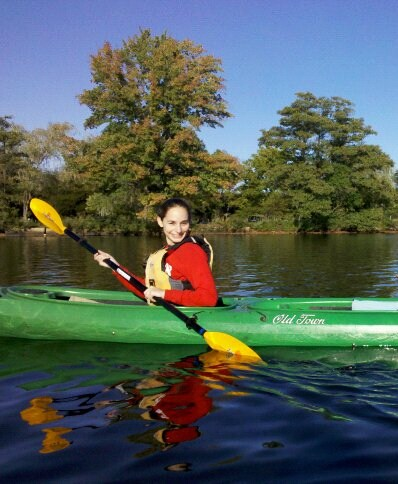 Kayaking on the Charles