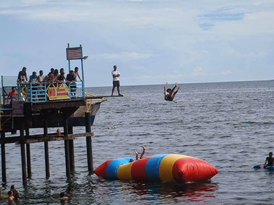 Maxima's Famous Water Blob ©AdventurePhilippines.ph