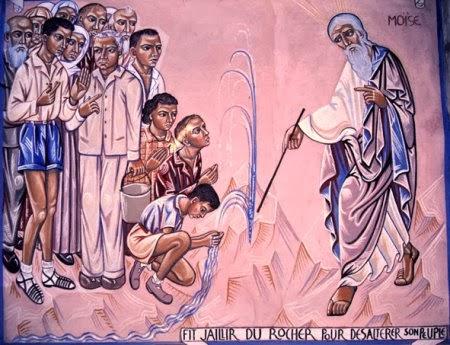 Exode 17:3-7 Moïse et le rocher Dimanche 19 mars 2017 mo%C3%AFse+1