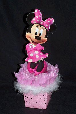 Pero Si Prefieres A Minnie Mouse Beb    Este Centro De Mesa Es El