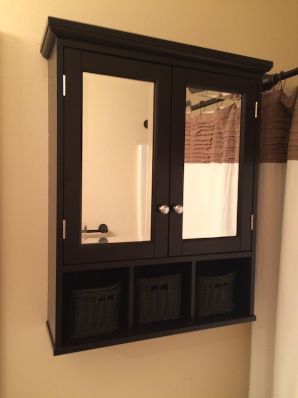 Handy in KS: Installing Surface Mount Medicine Cabinet