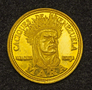 Venezuela 5 Bolivares Gold Coin, investing in gold