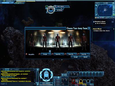 Star Trek Online - Choosing Away Team