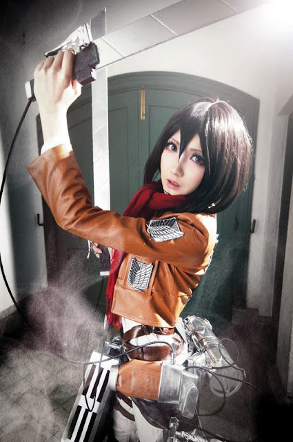 cosplay anime manga atack on titan