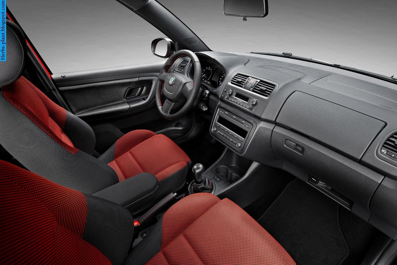 Skoda fabia car 2013 interior - صور سيارة سكودا فابيا 2013 من الداخل