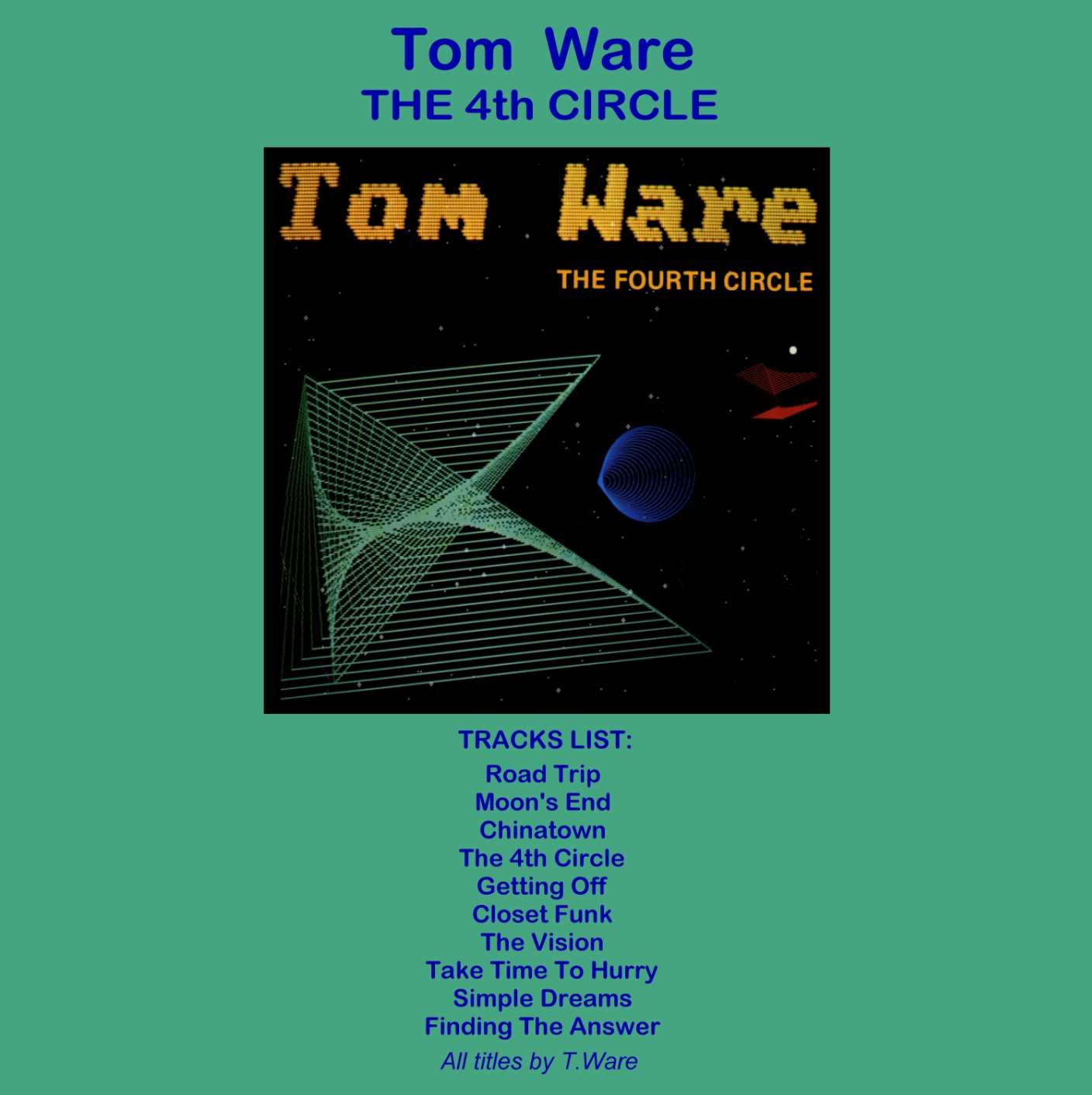 Tom Ware The Fourth Circle