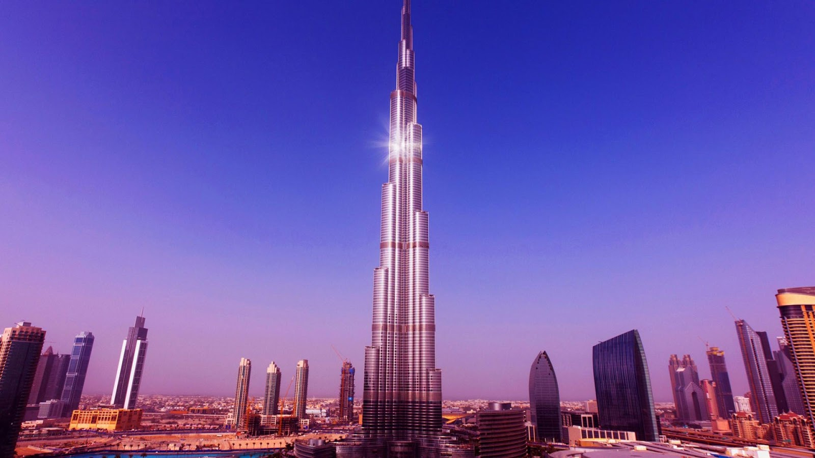 Burj khalifa car and electronic wallpaper for Videos dubai