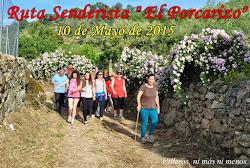 """RUTA SENDERISTA """"EL PORCARIZO"""" 2015"""