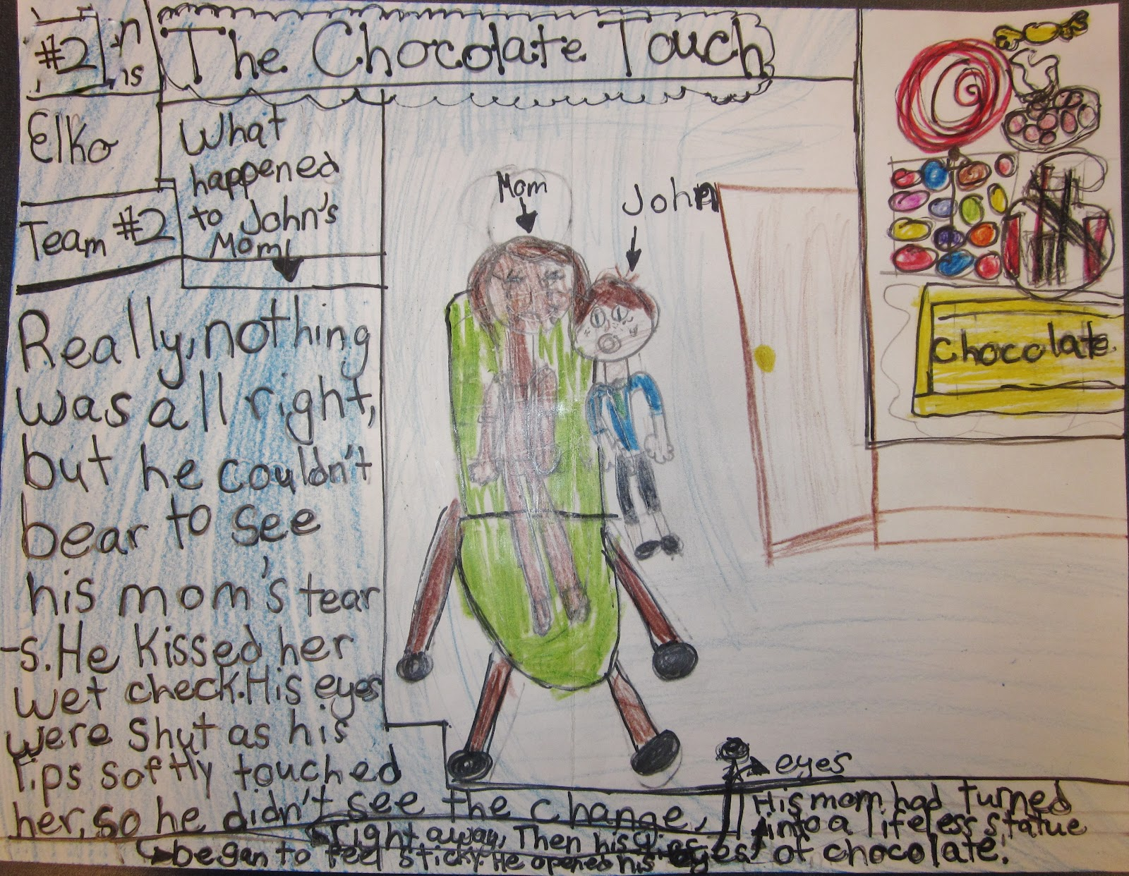 Lafayette School Takes a Reading Road Trip!: Yum, Yum... Chocolate ...