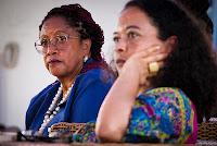 Foto: Peterson Azevedo - Luislinda Valois e Ana Maria Gonçalves