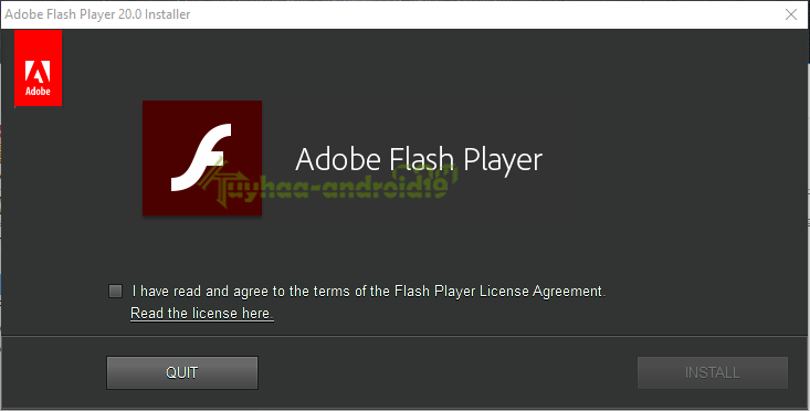 Adobe Flash Player offline terbaru
