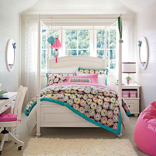 Little girls bedroom cool teenage girl rooms - Cute teen room decor ...