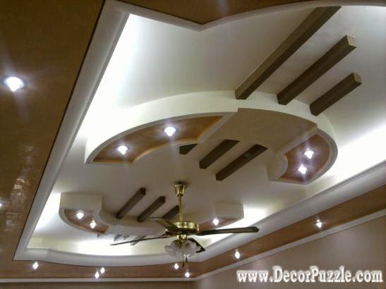 Pop False Ceiling Design For Luxury Living Room Interior Part 64