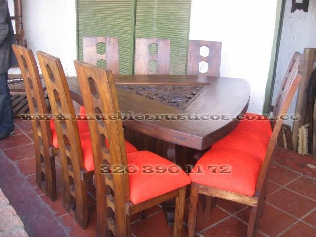 Muebles rusticos bogota