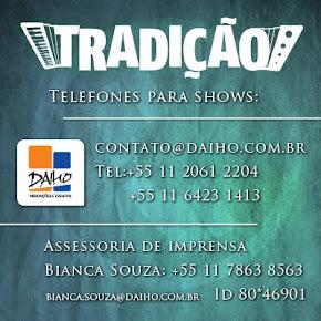 Site Oficial Grupo Tradição