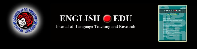 English Edu Journal - Fakultas Bahasa dan Sastra UKSW