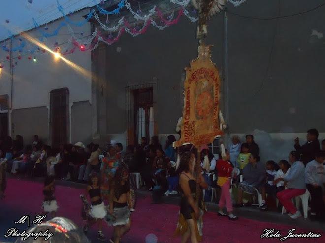 "Danza Chichimeca ""Guerreros de la Santa Cruz"""