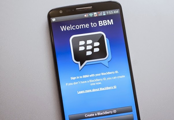 Cara Membuat Akun Blackberry ID di BBM Android