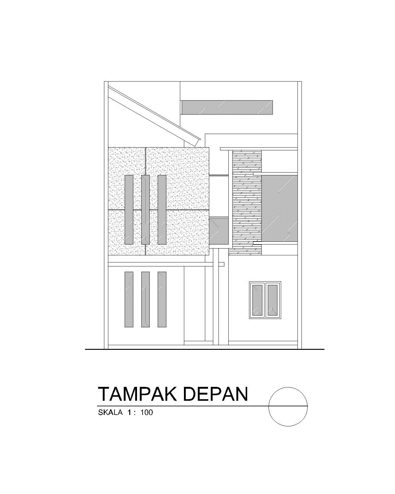 planning of buildings desain rumah minimalis mungil 7 x