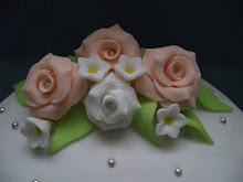 Barack színű rózsák 2