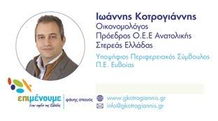 Γιάννης Κοτρογιάννης υποψήφιος περιφερειακός σύμβουλος