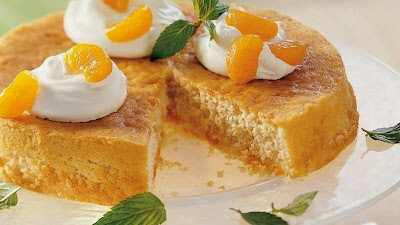 Moist Mandarin cake prepare orange cake Recipe in english
