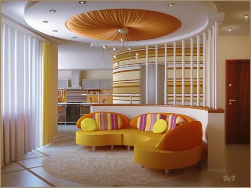 200 false ceiling designs - Trendy living room ceiling designs ...