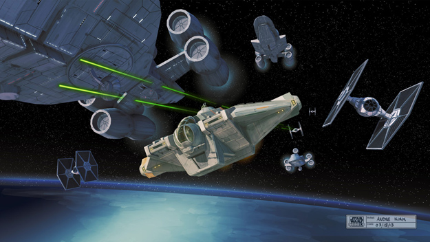 Star Wars Rebels: logo, concept art y detalles