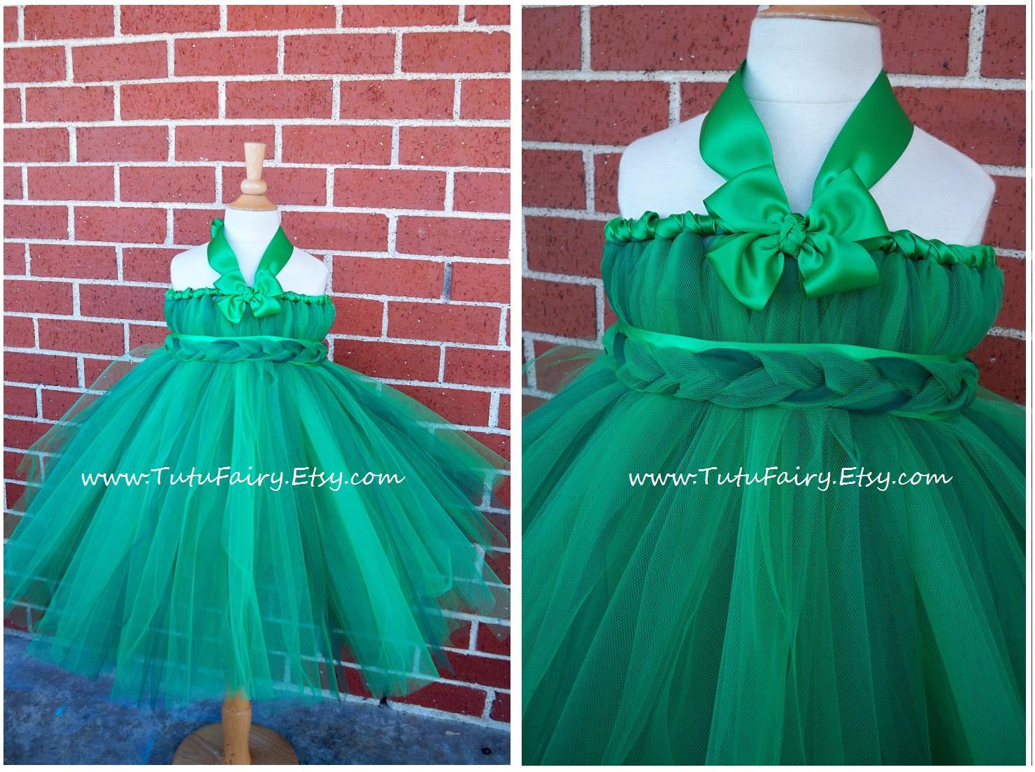 Emerald Flower Girl Dresses Fashion Dresses