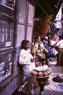 Altstadt von Kathmandu, Straßenhändler